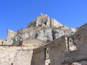The hilltop castle at Morella